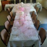 Nakrycie stołu Hotelik Gwardia