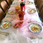 Hotelik Gwardia nakrycie stołu